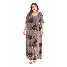 Женское платье размер плюс MN138-1
