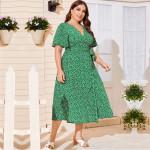 Повседневное платье большого размера MN136-1