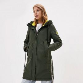 Удлиненная куртка женская весна-осень KD004-3
