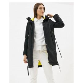 Длинная осенняя куртка женская KD004-2