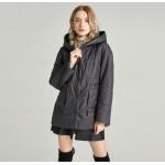 Куртка демисезонная женская большого размера KD045