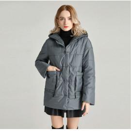 Женская весенняя куртка большого размера KD045-2