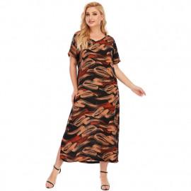 Летнее платье больших размеров MN125-1