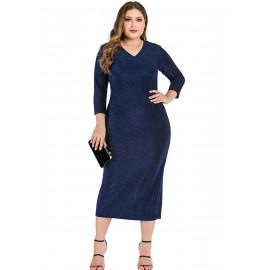 Вечернее платье размера плюс MN123