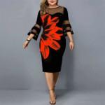 Вечернее платье на полную фигуру MN121