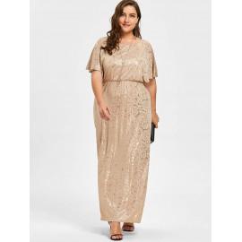 Вечернее платье размера плюс MN114