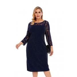 Вечернее платье размера плюс MN113