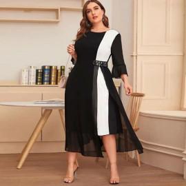 Женское вечернее платье больших размеров MN112