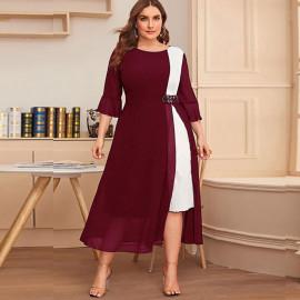 Женское вечернее платье больших размеров MN112-1