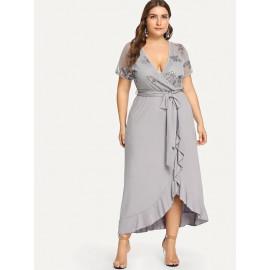 Женское платье больших размеров MN109-1