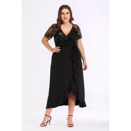 Женское платье больших размеров MN109