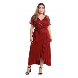 Женское платье больших размеров MN109-3