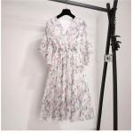 Женское летнее шифоновое платье MN102