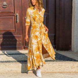 Длинная рубашка-платье женская MN85