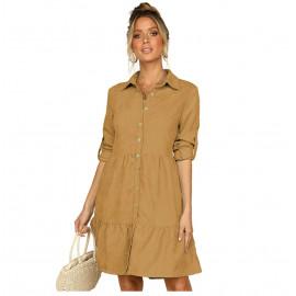 Платье рубашечного покроя летнее MN81