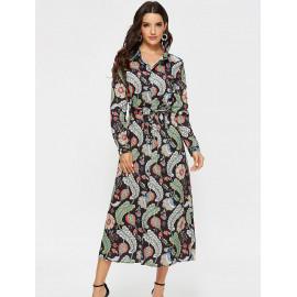 Платье-рубашка с длинным рукавом MN80