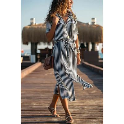 Платье В Полоску Для Женщин Фото