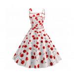 Платье с вишенками женское MN66-9