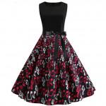 Черное платье на лето MN61-14