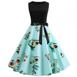 Женское винтажное платье MN61-21