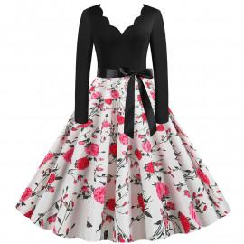 Женское винтажное платье MN009-27