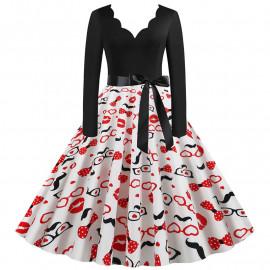 Женское винтажное платье MN009-26