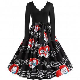 Женское винтажное платье MN009-24