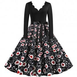 Женское винтажное платье MN009-22