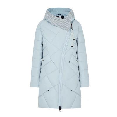 Зимнее женское пальто KD086-8, цвет голубой