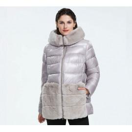 Зимняя куртка с мехом для женщин KD074