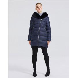 Зимняя куртка женская молодежная с мехом KD070-1