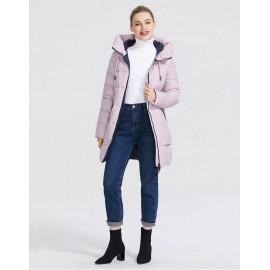 Зимняя куртка с капюшоном женская KD057-1