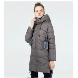 Утепленная зимняя куртка женская KD056-1