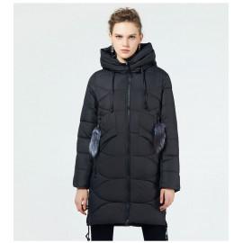 Стеганая куртка женская зимняя KD056
