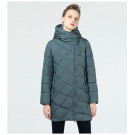 Куртка женская стеганая с капюшоном KD055-3