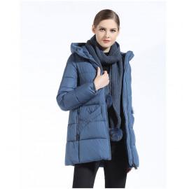 Стеганая куртка женская короткая KD054