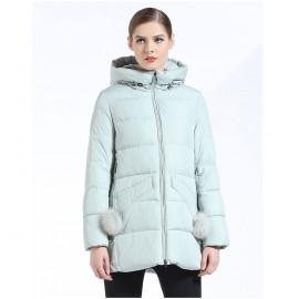 Укороченная куртка женская зимняя KD054-2