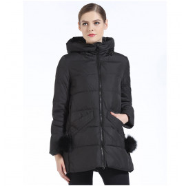 Куртка короткая женская зима KD054-3