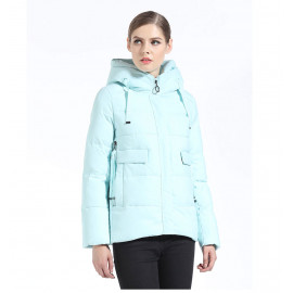 Короткая куртка женская зимняя KD053