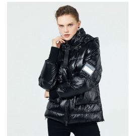Куртка пуховая женская короткая KD051-1