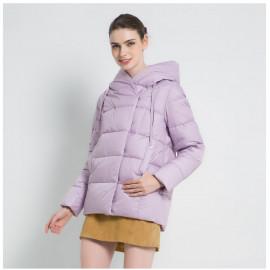 Короткая пуховая куртка женская KD050-4