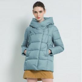 Куртка женская зимняя с капюшоном KD050-2