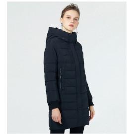 Женская удлиненная куртка на синтепоне KD049-2