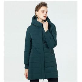 Стеганая зимняя куртка женская KD049-1