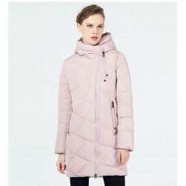 Утепленная женская куртка с капюшоном KD047-2