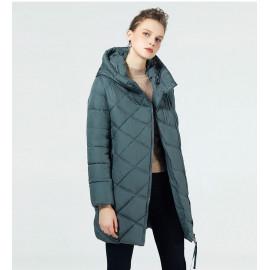 Куртка женская удлиненная теплая KD047-3