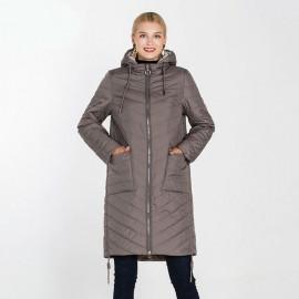 Пальто демисезонное женское большого размера KD046-1