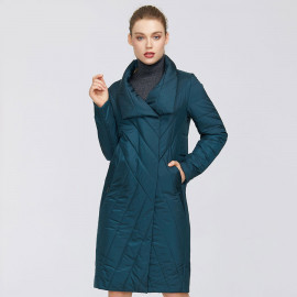 Женское пальто весна-осень большого размера KD044-1