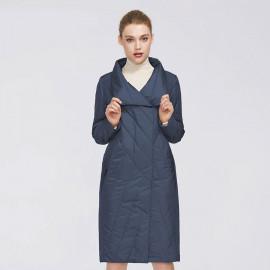 Женское демисезонное пальто больших размеров KD044-2