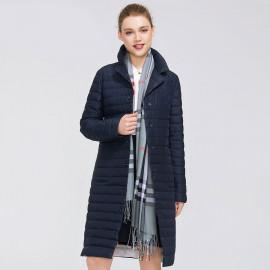 Женское пальто осень больших размеров KD043-1